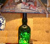 """Светильники, люстры - """"Ardbeg"""" Светильник из бутылки"""
