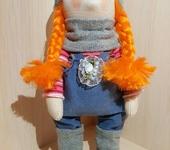 Другие куклы - Интерьерная кукла ручной работы 25 см