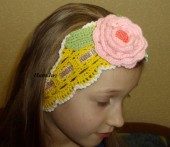 Головные уборы - Повязка на голову для девочки
