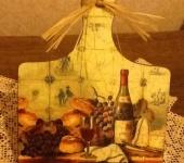 """Предметы для кухни - декоративная табличка """" старое вино """""""