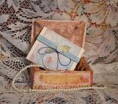 """Свадебные открытки - Набор мини-открытка и конверт """"Вдохновение"""""""
