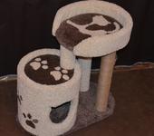 Аксессуары для кошек - Игровой комплекс .домик для кошки