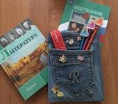 """Обложки для документов, книг - Обложка для школьного дневника """"Девчачья"""""""