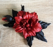 Броши - Праздничная Роза