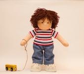 Вальдорфские куклы - Кукла мальчик 31 см