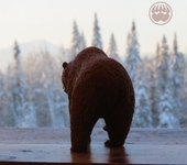 Статуэтки - Кедровый медведь Ищущий