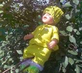 Одежда для кукол - Комплект для беби борн