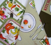Предметы для кухни - Набор для кухни Овощи