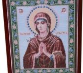 Вышитые картины - Семистрельная икона Божьей Матери