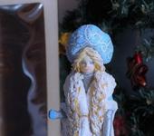 Статуэтки - Ватная Снегурочка
