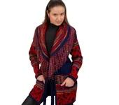 Верхняя одежда - Вязаный жакет