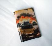 """Обложки для паспорта - Обложка на паспорт """"Танкисту"""""""