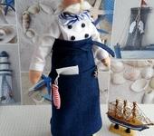 Куклы Тильды - Тильда повар - морской кок