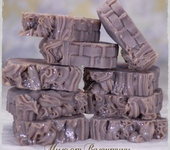 Мыло ручной работы - Мыло с нуля«Какао ши календула»