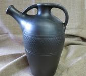 Декоративные бутылки - керамическая бутылка