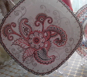 Тарелки - Декоративное блюдо, ручная роспись.