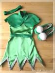 Карнавальные костюмы - Фея Динь-Динь (костюм для девочки)