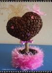 """Элементы интерьера - Кофейное дерево счастья """"С любовью"""""""