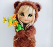 Вязаные куклы - Тэдди-долл Мишель