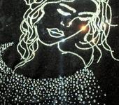 Картины со стразами - Девушка