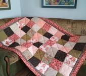 "Подушки, одеяла, покрывала - Лоскутное одеяло ""Прованс"""