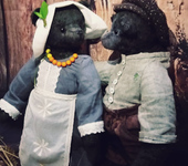 Мишки Тедди - Медведица Аннушка(Мишка Тедди)