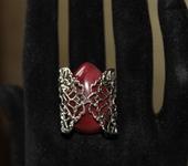 Кольца - Кольцо с яшмой мукаит