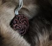 Кулоны, подвески - Подвеска с трехглавым драконом дома Таргариен