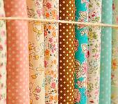 Шитье, вязание - Набор ткани из 12 отрезков