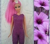 Одежда для кукол - Комбинезон Сирень