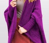 Кофты и свитера - Кардиган цвета фуксии