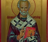 Живопись - Икона Святой Николай Чудотворец