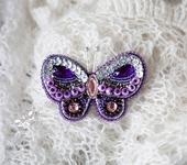 Броши - Бабочка Сирена