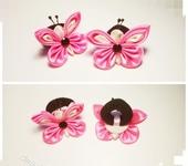 Украшения для волос - Нежные бабочки