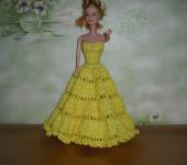 Вязаные платья для кукол фото схемы