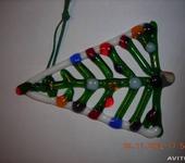 Элементы интерьера - Елочная игрушка  елка разноцветная