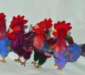 Зверята - Веселые петушки