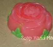 Мыло ручной работы - Нежная Роза