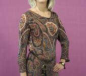 Блузки - Блузка - возрождение, из итальянского шелка