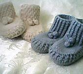 Носки и гольфы - Пинетки зимние