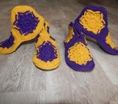 Обувь ручной работы - Красивейшие тапочки ручной работы