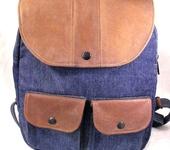 Сумки, рюкзаки - Рюкзак женский джинсовый