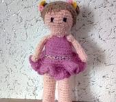Вязаные куклы - Куколка