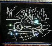 Картины со стразами - Ночной город