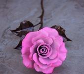 Оригинальные подарки - Светло-розовая медная роза