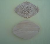 Декупаж - Винтажная деревянная резная аппликация