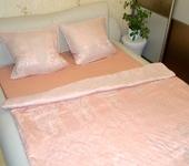 Подушки, одеяла, покрывала - Постельное белье Персик