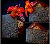 """Обложки для паспорта - """"Восточный мотив"""""""