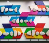 Элементы интерьера - Цветные рыбки
