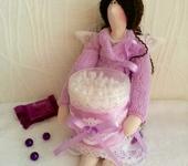Куклы Тильды - Тильда Банный Ангел, держатель ватных палочек